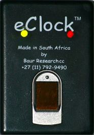 eClock FingerPrint clocking machine.